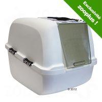 Maison de toilette Catit Jumbo White Tiger pour chat