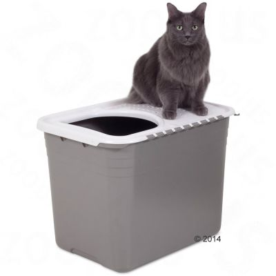 Maison de toilette Petmate Top Entry pour chat