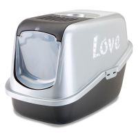 Maison de toilette Savic Nestor Impression Love pour chat