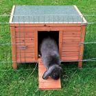 Maisonnette Natura pour lapin et rongeur