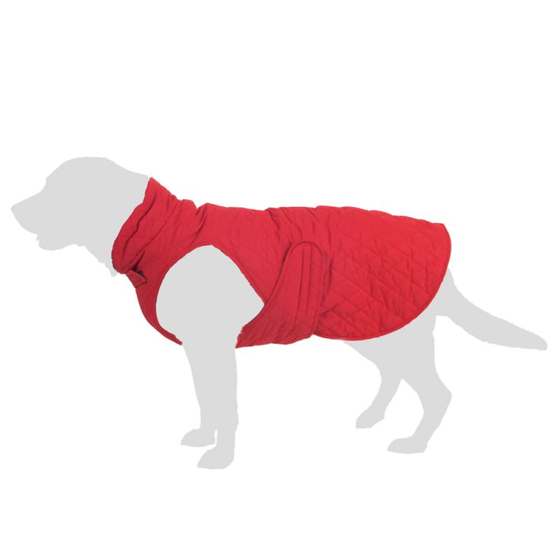 Manteau surpiqué pour chien