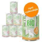 Míchané balení na vyzkoušení: zooplus Bio 6 x 400 g