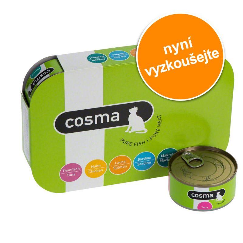 Míchané balení na zkoušku: Cosma Original v želé