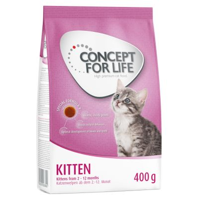 Míchané balení Royal Canin a Concept for Life 400 g