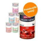 Mešano pakiranje Animonda GranCarno Original Adult 6 x 400 g