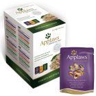 Mešano pakiranje Applaws vrečke mačja hrana v bujonu 12 x 70 g