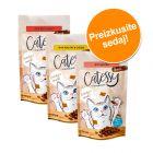Mešano poskusno pakiranje Catessy hrustljavi prigrizki 3 x 65 g
