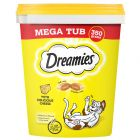 Mega Tub Dreamies 350 g pour chat