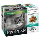 Mega pakiranje Purina Pro Plan Nutrisavour Sterilised 10 x 85 g