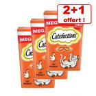 Mega Tub Catisfactions pour chat 2 x 350 g : 350 g offerts !