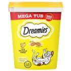 Mega Tub Dreamies 350 g pour chat