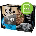 Megabalení Sheba Craft Collection Pack 144 x 85 g