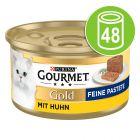 Megapachet Gourmet Gold Mousse 48 x 85 g
