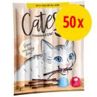 Megapack Catessy Sticks 50 x 5 g snacks para gatos