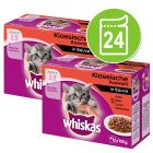 Megapack Whiskas Junior Φακελάκια 24 x 100 g