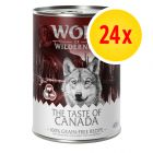 Megapack Wolf of Wilderness The Taste Of 24 x 400 g