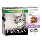 Megapack Pro Plan Nutri Savour Sterilised
