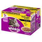 Megapack Whiskas 1+ Adult Frischebeutel 24 x 100 g