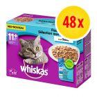 Megapack Whiskas 11+ Frischebeutel 48 x 100 g