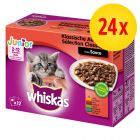Megapack Whiskas Junior Frischebeutel 24 x 100 g