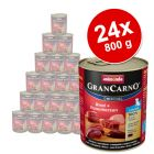 Megapakiet Animonda GranCarno Original Junior, 24 x 800 g