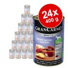 Megapakiet Animonda GranCarno Sensitive, 24 x 400 g