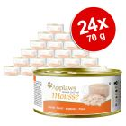 Megapakiet Applaws Mousse, 24 x 70 g