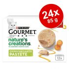 Megapakiet Gourmet Nature's Creation mus, 24 x 85 g