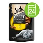 Megapakiet Sheba Craft Collection, 24 x 85 g