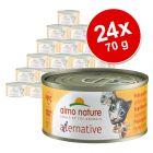 Megapakiet Almo Nature HFC Alternative, 24 x 70 g