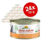 Megapakiet Almo Nature HFC Natural Made in Italy, 24 x 70 g