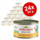 Megapakiet Almo Nature HFC, 24 x 95g