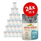 Megapakiet Almo Nature Holistic Urinary Help, 24 x 70 g