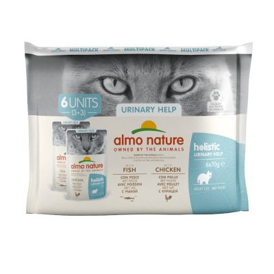Megapakiet Almo Nature Holistic Urinary Help, 24 x 70 g