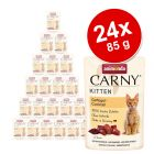 Megapakiet Animonda Carny Kitten, 24 x 85 g