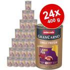 Megapakiet Animonda GranCarno Adult Single Protein Supreme, 24 x 400 g