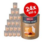 Megapakiet Animonda GranCarno Adult Single Protein, 24 x 800 g