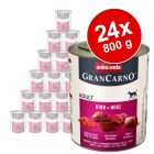 Megapakiet Animonda GranCarno Original Adult, 24 x 800 g