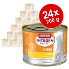 Megapakiet Animonda Integra Protect Adult Renal, puszki, 24 x 200 g