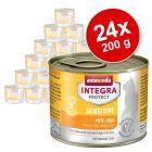Megapakiet Animonda Integra Protect Adult Sensitive, puszki, 24 x 200 g