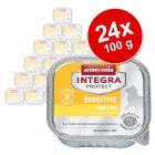 Megapakiet Animonda Integra Protect Adult Sensitive, tacki, 24 x 100 g
