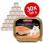 Megapakiet Animonda vom Feinsten Adult z nadzieniem, 30 x 100 g