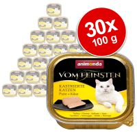 Megapakiet Animonda vom Feinsten dla kastratów, 30 x 100 g