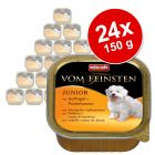 Megapakiet  Animonda vom Feinsten Junior, 24 x 150 g