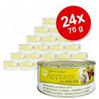Megapakiet Applaws karma w galarecie dla kota, 24 x 70 g