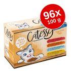 Megapakiet Catessy Saszetki, 96 x 100 g