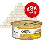 Megapakiet Gourmet Gold Kawałki w Sosie, 48 x 85 g