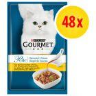 Megapakiet Gourmet Perle w sosie, 48 x 85 g