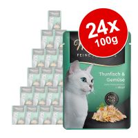 Megapakiet Miamor Feine Filets w saszetkach, 24 x 100 g