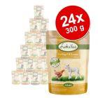 Megapakiet mieszany Lukullus Natural w saszetkach, 24 x 300 g